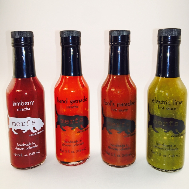 all 4 hot sauces